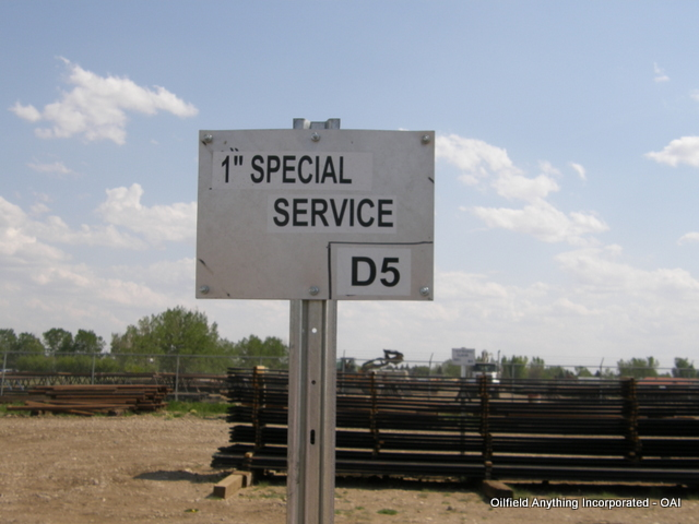 1 inch special service rods, oilfield