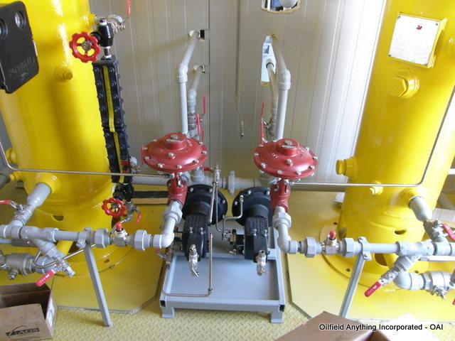 single vertical separator package