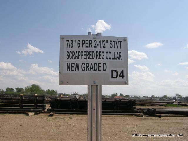 78 Reg Collar, rods, oilfield